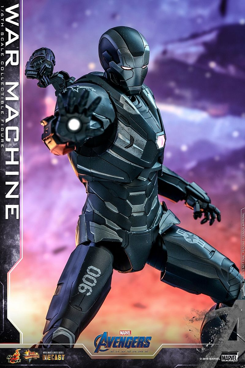 Hot Toys War Machine - Avengers: End Game MMS530D31