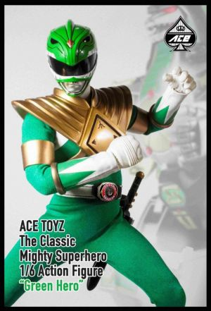 Ace Toyz Classic Mighty Superhero Green Hero