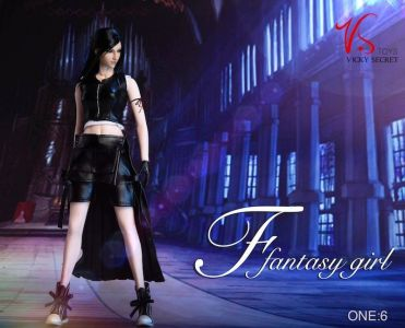 VS Toys Fantasy Girl Tifa