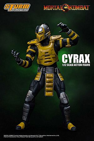 Storm Collectibles Cyrax Mortal Kombat