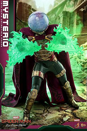 Hot Toys Mysterio - Spiderman Far From Home MMS556